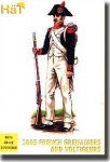 HAT 8171 1:72 1805 FRENCH GRENADIERS & VOLTIGEURS (48)