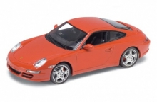 WELLY 18004 PORSCHE 911 (997) CARRERA S COUPE BLACK OR RED OR SILVER