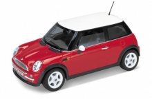 WELLY 19851 W-RED MINI COOPER