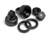 HPI 100317 SHOCK CAP - PRELOAD COLLAR SET FIRESTORM