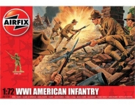 AIRFIX 00729 WWI AMERICAN INFANTRY 1:72