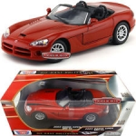 MOTORMAX 73137 2003 DODGE VIPER SRT-10 SILVER OR RED