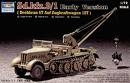 TRUMPETER 07253 1:72 WWII GERMAN FAMO SDKFZ 9/1 HEAVY HALFTRACK PRIME MOVER W/6-