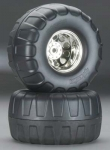 HPI 4884 MOUNTED DUAL STAGE TIRES KING WHEEL