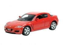 MOTORMAX 73323 2005 MAZDA RX 8 GRAY OR RED