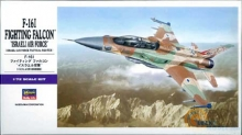 HASEGAWA 01564 1:72 F 16 I FIGHTING FALCON ISRAELI AIR FORCE