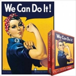 EUROGRAPHICS 6000-1292 ROSIE THE RIVETER 1000 PIEZAS PUZZLE