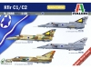 ITALERI 2688 1:48 KFIR C1:C2 ISRAELI AIR FORCE FIGHTER