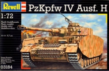 REVELL 03184 1:72 PZKPFW. IV AUSF. H