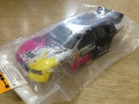 HPI 106222 DSX-2 TRUCK PAINTED BODY (PINK/YELLOW/BLACK)