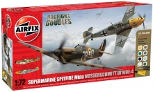 AIRFIX 50135 DOGFIGHT DOUBLE SPITFIRE/BF 109 1:72