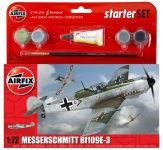 AIRFIX 55106 MESSERSCHMITT BF 109 E START 1:72