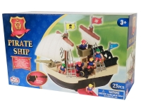 REDBOX 24259-1 PIRATE SHIP (WITH 23 ACCESSORIES)