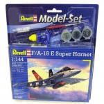 REVELL 63997 MODEL SET F/A 18 E SUPER HORNET 1:144
