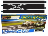 SCALEXTRIC C7036 STRAIGHT LANE CHANGE TRACK