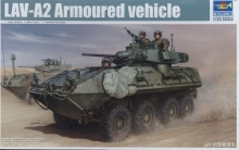 TRUMPETER 01521 LAV-A2 ARMOURED VAHICLE 1:35