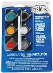 TESTORS 9001 ACRYLIC POTS 6 COLOR PRIMARY