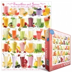 EUROGRAPHICS 6000-0591 SMOOTHIES AND JUICES 1000 PIEZAS PUZZLE