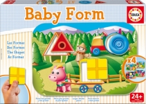 EDUCA 15892 BABY PUZZLES ANIMALES BOSQUE