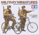TAMIYA 35333 1:35 BRITISH PARATROOPERS SET W/BICYLCLES