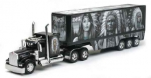 NEWRAY 11423 1:32 DIE CAST AMERICAN NATIVE TRUCK