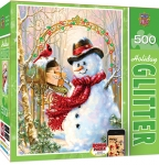 MASTERPIECES 31582 LETTERS TO FROSTY PUZZLE 500 PIEZAS GLITTER