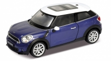 WELLY 24050 2014 MINI PACEMAN, BLUE/WHITE,RED/WHITE