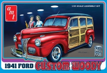 AMT 906 1:25 1941 FORD WOODY