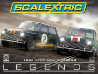 SCALEXTRIC C3586 TOURING CAR LEGENDS 1964 ATCC MINI COOPERS