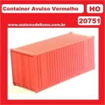 FRATESCHI 20751 SINGLE CONTAINER RED