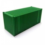 FRATESCHI 20754 SINGLE CONTAINER GREEN