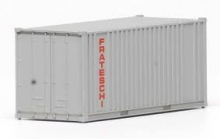FRATESCHI 20758 SINGLE CONTAINER UNDECORATED