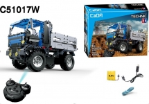 GIGATOYS C51017W DOUBLE EAGLE 1:14 R/C BUILDING BLOCKS DUMP TRUCK