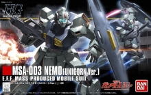 BANDAI 175331 GUNDAM UNICORN NEMO HIGH GRADE 1:144 SCALE MODEL KIT