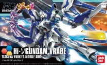 BANDAI 194865 HI-NU GUNDAM VRABE HIGH GRADE 1:144 SCALE MODEL KIT