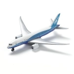 REALTOY RT7474 DREAMLINER B 787-8 AIRLINER (5 PULG WINGSPAN) (DIE CAST)
