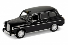 WELLY 22450 1985 AUSTIN FX4 LONDON TAXI. BLACK