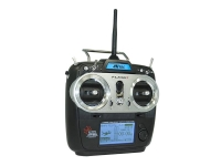 HITEC 170264 FLASH 7 - 7 CHANNEL 2.4GHZ AIRCRAFT COMPUTER RADIO CON 2 RECEPTORES