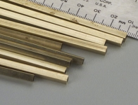 KS 8152 SQUARE BRASS TUBE 5/32 4MM