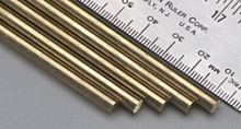 KS 8166 SOLID BRASS ROD 3/16 4.76MM