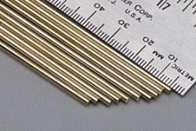 KS 8168 SOLID BRASS ROD .081