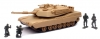 NEWRAY 01756 1:32 M1A1 TANK (TRYME LIGHT AND SOUND)