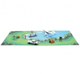 NEWRAY 05703 CAMPING SET W/PLANE AND PICK UP