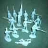 CLASSICTOY 172 1:32 WWII US INFANTRY SET -2 (16)
