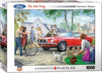 EUROGRAPHICS 6000-0956 THE RED PONY BY NESTOR TAYLOR 1000 PIEZAS PUZZLE