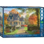 EUROGRAPHICS 6000-0978 THE BLUE COUNTRY HOUSE 1000 PIEZAS PUZZLE