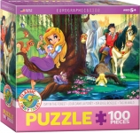 EUROGRAPHICS 6100-0728 DAY IN THE FOREST 100 PIEZAS PUZZLE