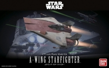 BANDAI 206320 STAR WARS 1:72 A-WING STARFIGHTER