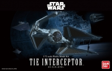 BANDAI 208099 STAR WARS 1/72 TIE INTERCEPTOR