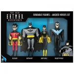 NJCORCE 39561 NEW BATMAN ADVENTURES-MASKED HEROES 4-PC BENDABLE